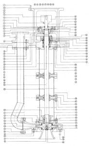 diagram of a typical waste water pump