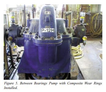 Pump Reliability using Composite Wear Rings