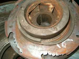Vespel shaft bushings